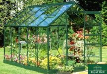 Royal Well | Hobbykas Popular 106 Tuindersglas (groen gecoat)